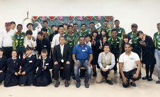 スリランカU19選手団と佐野高校の交流会が行われました!