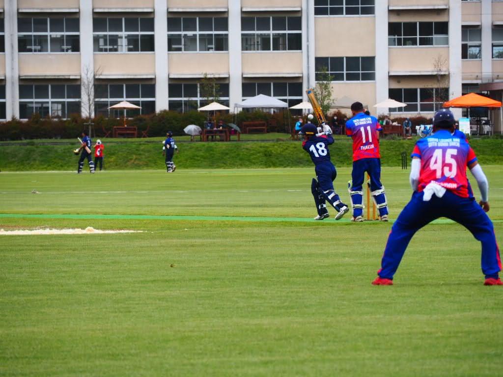 エンバシーカップ2020 バングラデシュ大使館vs日本B